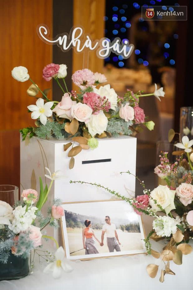 Những hình ảnh đầu tiên về tiệc cưới tại khách sạn hạng sang của MC Thu Hoài và chồng CEO - Ảnh 9.