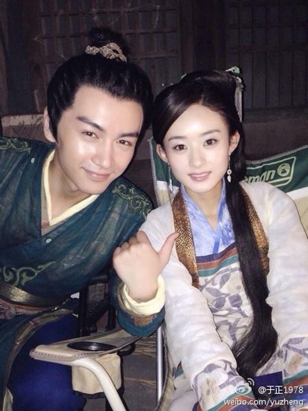 Chuyện cũ bất ngờ bị đào lại: Triệu Lệ Dĩnh phản bội chồng Chae Rim, bị phát hiện ngoại tình với Trần Hiểu tại hậu trường - Ảnh 7.