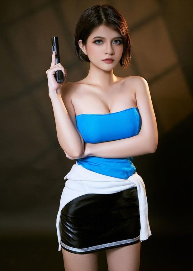 Nữ cosplayer Việt Nam được khen hết lời khi hóa thân thành cô nàng Jill Valentine siêu vòng 1 - Ảnh 3.