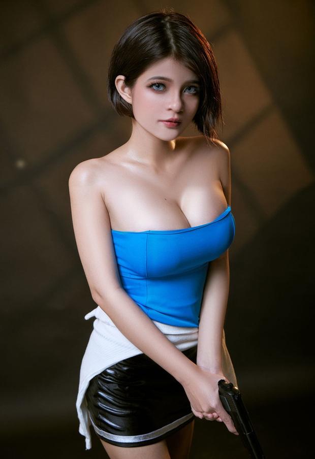 Nữ cosplayer Việt Nam được khen hết lời khi hóa thân thành cô nàng Jill Valentine siêu vòng 1 - Ảnh 7.