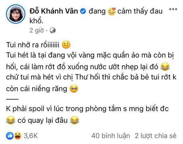 Khánh Vân nói gì về nghi vấn la làng với Nam Thư khi bị giục tắm nhanh trong tập mới Sao Nhập Ngũ? - Ảnh 2.