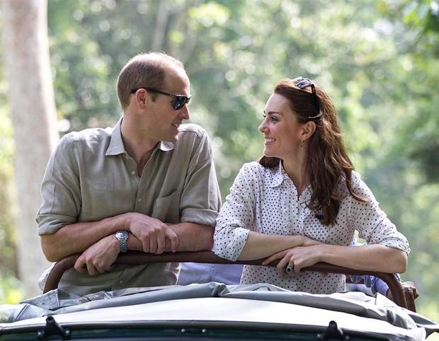 Góc cẩu lương: Mặc bao thị phi, vợ chồng Công nương Kate vẫn mặn nồng theo năm tháng, nhìn ánh mắt thôi đã thấy như ngôn tình - Ảnh 7.