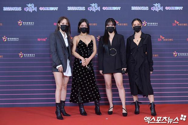 """Tranh cãi siêu thảm đỏ KBS Gayo Daechukje 2020: TWICE - aespa hoá thảm hoạ, BTS và chị cả MAMAMOO vòng 1 khủng vẫn không """"cứu"""" nổi - Ảnh 8."""