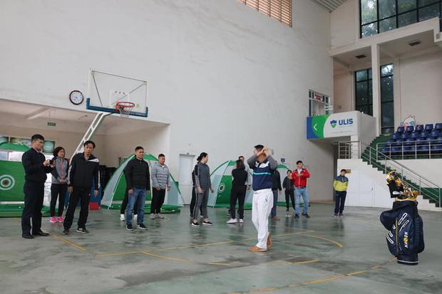 Đại học Quốc gia Hà Nội chuẩn bị đưa môn golf vào giảng dạy - Ảnh 4.