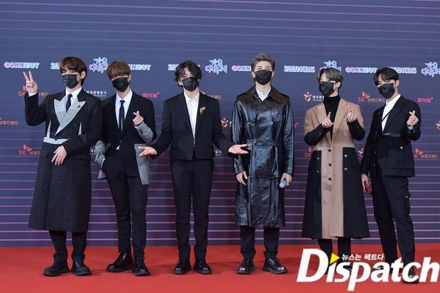 """Tranh cãi siêu thảm đỏ KBS Gayo Daechukje 2020: TWICE - aespa hoá thảm hoạ, BTS và chị cả MAMAMOO vòng 1 khủng vẫn không """"cứu"""" nổi - Ảnh 2."""