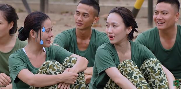 Hôn hụt chú Ngạn trong phim, Trà Long Khánh Vân quyết tâm tìm lại bình yên với anh lính trong Sao Nhập Ngũ? - Ảnh 13.