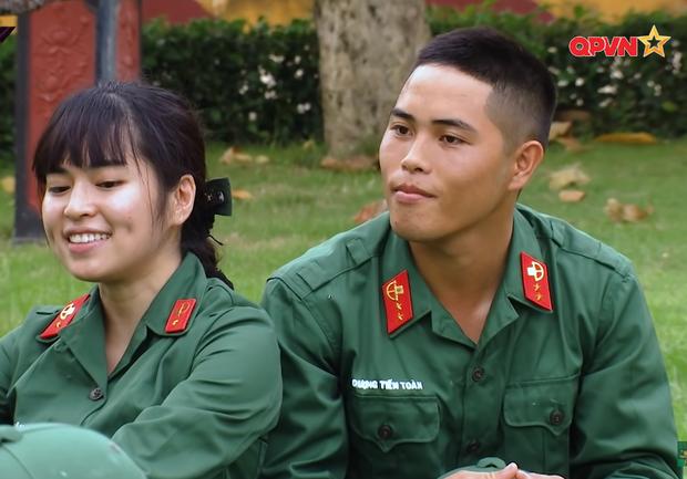 Hôn hụt chú Ngạn trong phim, Trà Long Khánh Vân quyết tâm tìm lại bình yên với anh lính trong Sao Nhập Ngũ? - Ảnh 3.