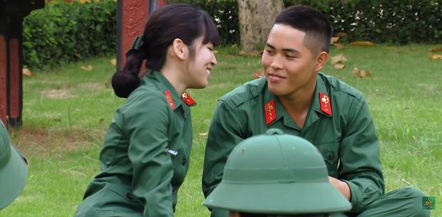 Hôn hụt chú Ngạn trong phim, Trà Long Khánh Vân quyết tâm tìm lại bình yên với anh lính trong Sao Nhập Ngũ? - Ảnh 4.