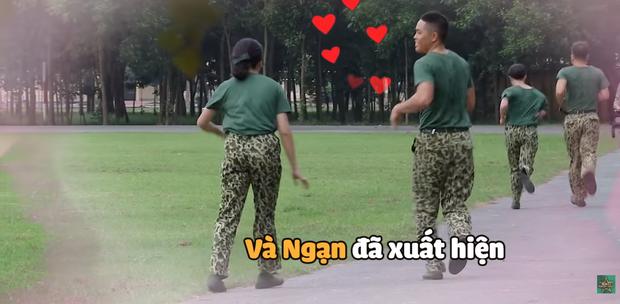 Hôn hụt chú Ngạn trong phim, Trà Long Khánh Vân quyết tâm tìm lại bình yên với anh lính trong Sao Nhập Ngũ? - Ảnh 7.