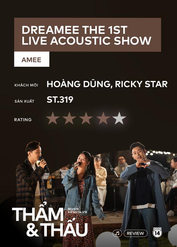 dreamee the 1st live acoustic show - AMEE mạo hiểm trái sở trường để sang trang sự nghiệp? - Ảnh 15.