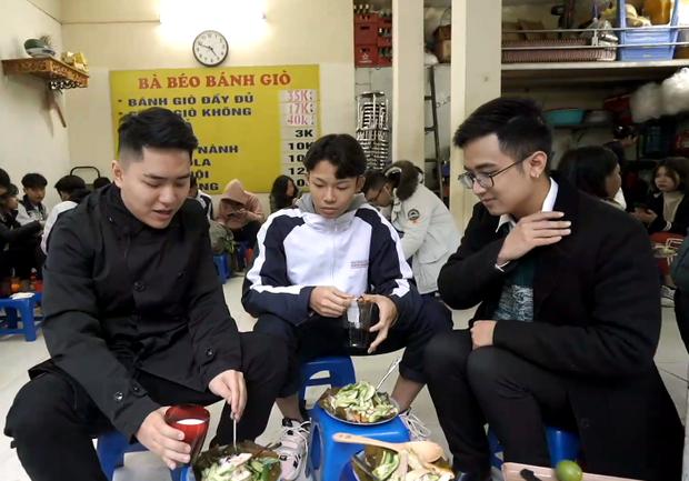 Ăn bánh giò với sữa chua, trân châu và nước cốt chanh: các chàng trai tham gia Đói Chưa Nhỉ được phen hết hồn với trải nghiệm mới - Ảnh 4.