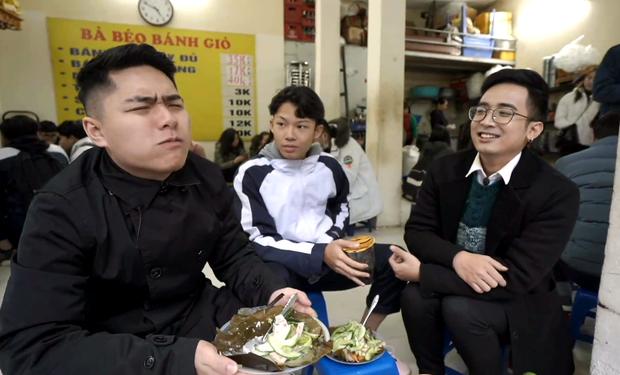 Ăn bánh giò với sữa chua, trân châu và nước cốt chanh: các chàng trai tham gia Đói Chưa Nhỉ được phen hết hồn với trải nghiệm mới - Ảnh 6.