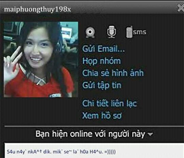 Netizen khui loạt ảnh thời Yahoo của Mai Phương Thuý: Để tóc mái bằng cực dễ thương và lộ mặt mộc bất ngờ - Ảnh 5.