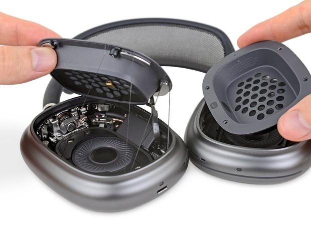 Phẫu thuật AirPods Max, iFixit cho biết tai nghe của Apple rất khó tháo rời - Ảnh 3.