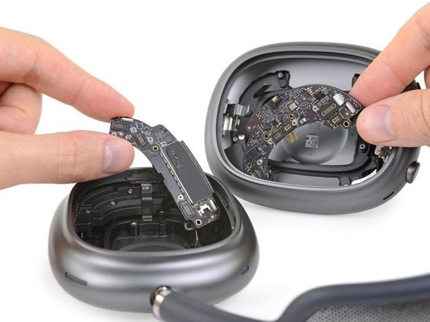 Phẫu thuật AirPods Max, iFixit cho biết tai nghe của Apple rất khó tháo rời - Ảnh 2.