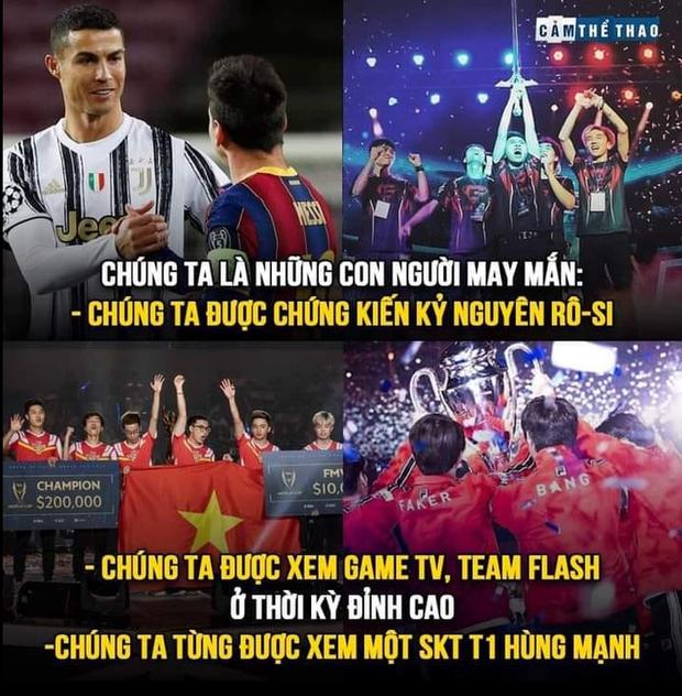 Cộng đồng Liên Quân tiếc nuối, ví thế hệ vàng Team Flash tựa như kỷ nguyên Ronaldo và Messi - Ảnh 3.