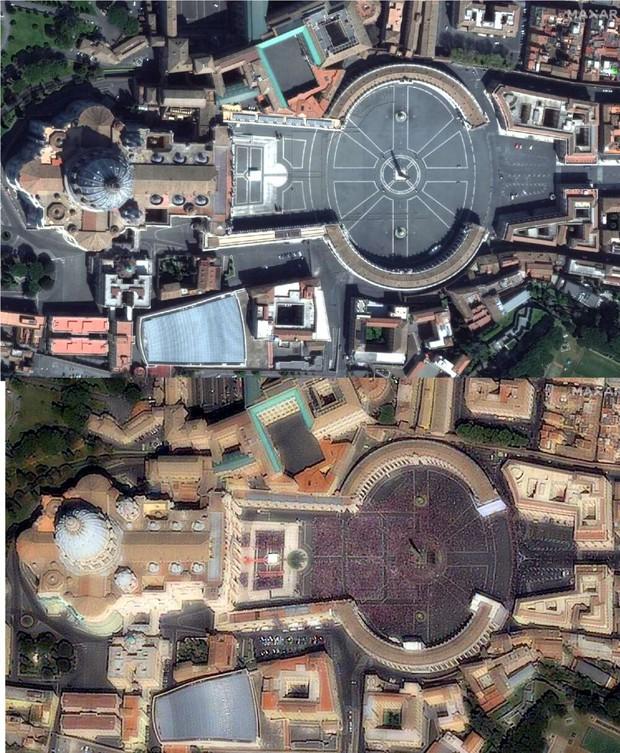 Chùm ảnh vệ tinh về những thứ đã định hình lại thế giới năm 2020: Nhìn từ trên cao mới thấy 1 năm vừa qua điên rồ đến mức nào - Ảnh 4.