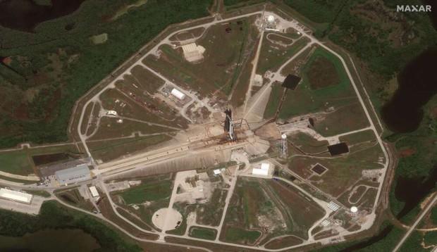 Chùm ảnh vệ tinh về những thứ đã định hình lại thế giới năm 2020: Nhìn từ trên cao mới thấy 1 năm vừa qua điên rồ đến mức nào - Ảnh 5.
