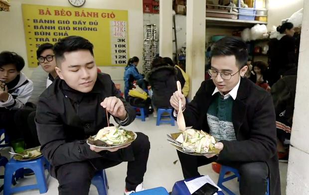 Ăn bánh giò với sữa chua, trân châu và nước cốt chanh: các chàng trai tham gia Đói Chưa Nhỉ được phen hết hồn với trải nghiệm mới - Ảnh 2.