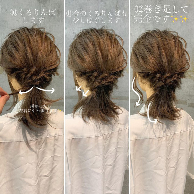 Học 4 kiểu tết tóc xinh xỉu cho mùa lạnh, con gái chẳng sợ ai chê tóc tai chán đời - Ảnh 7.
