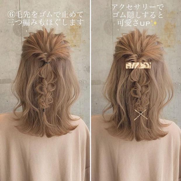 Học 4 kiểu tết tóc xinh xỉu cho mùa lạnh, con gái chẳng sợ ai chê tóc tai chán đời - Ảnh 1.