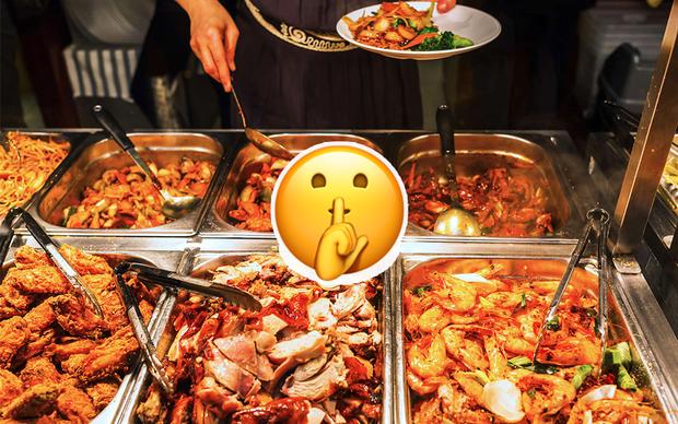 """Đích thân nhân viên nhà hàng buffet vào trả lời khúc mắc của thực khách, bao bí mật """"mờ ám"""" được lý giải cực bất ngờ - Ảnh 1."""