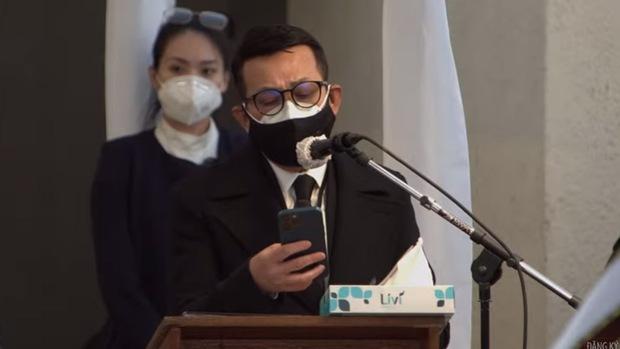 Xúc động tâm thư của Bằng Kiều tại lễ viếng NS Chí Tài ở Mỹ: Em vẫn chưa hết bàng hoàng dẫu vẫn biết đời vô thường - Ảnh 4.