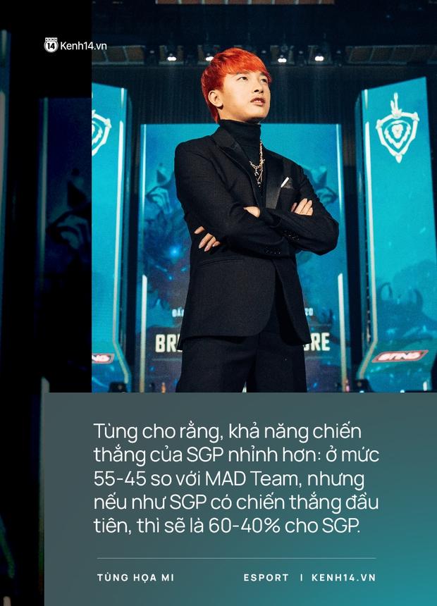 Phỏng vấn BLV Tùng Họa Mi: Saigon Phantom thắng 60%, Lai Bâng hơn Neil rất nhiều, nhưng chỉ thua một điểm then chốt - Ảnh 3.
