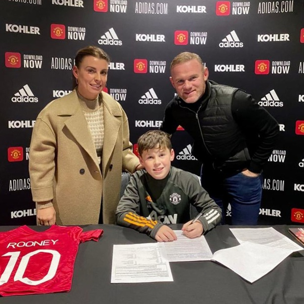 Kai Rooney gia nhập MU, nhưng cậu có xuất sắc như ông bố huyền thoại? - Ảnh 1.
