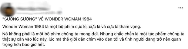 Wonder Woman 1984 bị netizen so sánh với... Hương Giang vì hay nói đạo lý, người khen kẻ chê lẫn lộn - Ảnh 7.