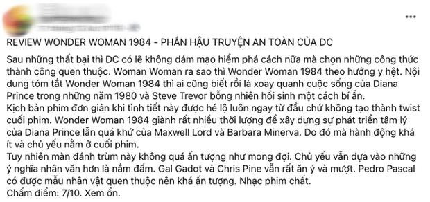 Wonder Woman 1984 bị netizen so sánh với... Hương Giang vì hay nói đạo lý, người khen kẻ chê lẫn lộn - Ảnh 5.