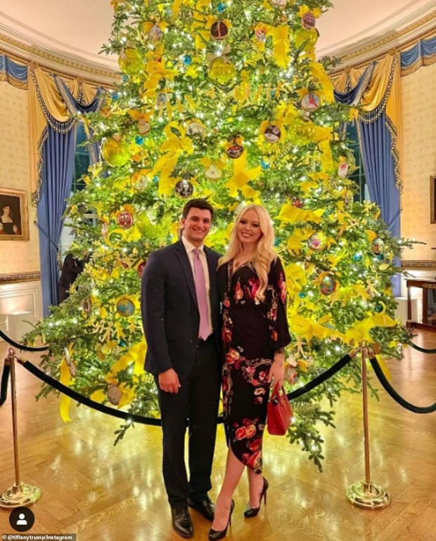 Vợ chồng Tổng thống Trump rạng rỡ trong ảnh Giáng sinh chính thức, dân mạng tinh mắt nhận ra một chi tiết gây khó hiểu - Ảnh 6.