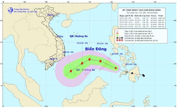 Biển Đông sắp đón cơn bão mới, gió giật cấp 10 - Ảnh 1.