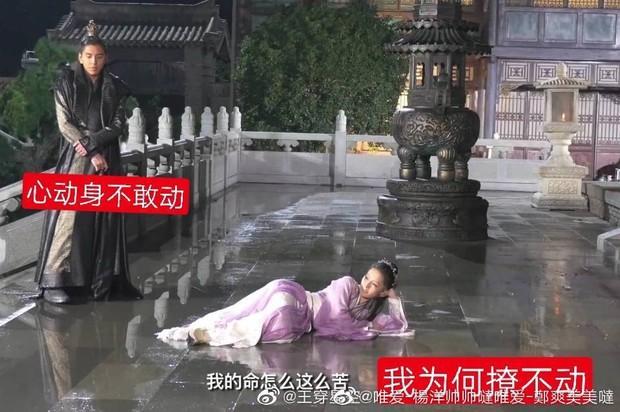 Loạt hậu trường tố Lý Thấm là thánh hài ngầm của Lang Điện Hạ: Hóa tiên cá dưới mưa, bắt nạt nam chính không ngơi nghỉ - Ảnh 6.