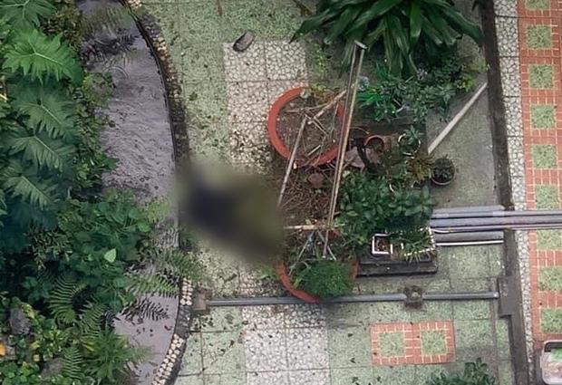 Nam thanh niên rơi từ tầng 6 xuống sân trường Đại học Ngoại Ngữ - Tin Học, tử vong thương tâm - Ảnh 1.