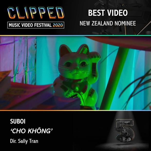 MV Cho Không ra mắt từ năm 2019 của Suboi bất ngờ được đề cử Video xuất sắc nhất tại lễ trao giải Úc - Ảnh 2.