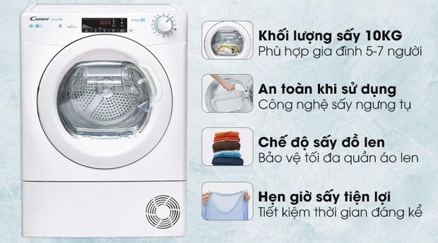 Góc chị em low-tech: Kinh nghiệm chọn mua máy sấy quần áo - Ảnh 11.
