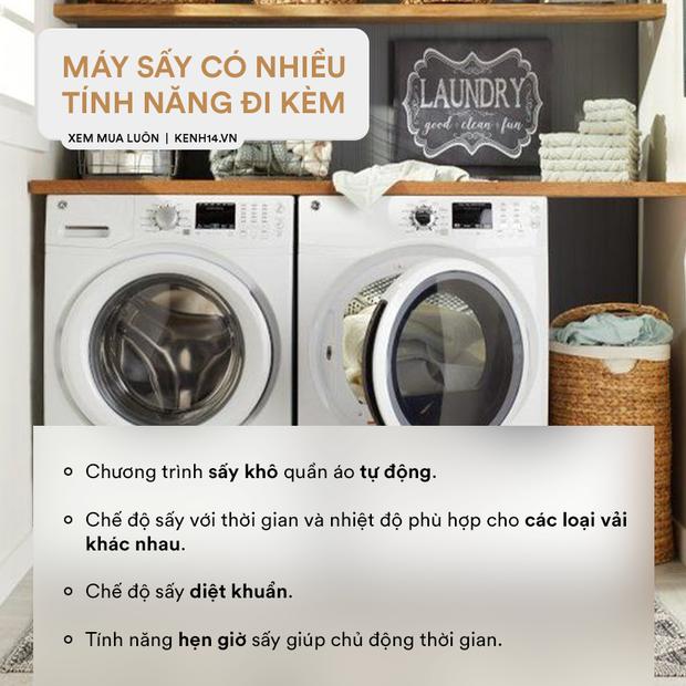 Góc chị em low-tech: Kinh nghiệm chọn mua máy sấy quần áo - Ảnh 3.
