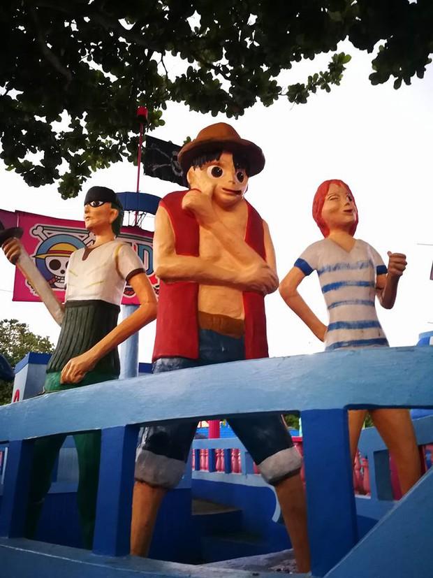 Netizen khóc thét với bộ tượng One Piece lỗi toàn tập gây bão MXH: Sợ nhất là Luffy không cổ dị vô cùng! - Ảnh 14.