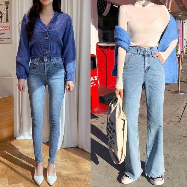Chân mắc 1 trong các khuyết điểm sau thì bạn hãy ghim ngay 4 chiêu để chọn quần jeans cho chuẩn - Ảnh 1.
