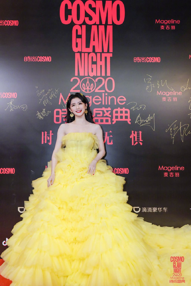 Dàn sao khủng đổ bộ thảm hồng COSMO: Công chúa Dương Mịch so kè nhan sắc bên Đường Yên, học trò Lisa chặt chém ác liệt - Ảnh 12.