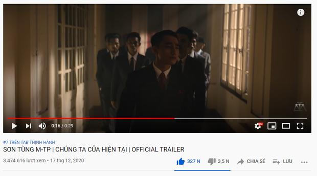 Chuyện gì thế này: teaser MV mới của Sơn Tùng M-TP chỉ im ỉm vươn đến top 7 trending, thành tích kém xa loạt teaser trước đó? - Ảnh 1.