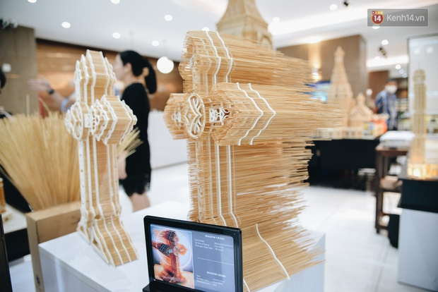 Độc đáo những kiến trúc nổi tiếng Việt Nam và thế giới được xây bằng tăm bởi bàn tay của người Việt - Ảnh 9.