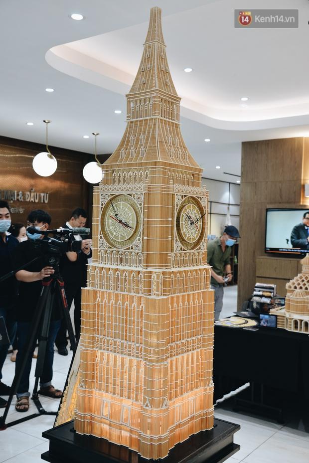 Độc đáo những kiến trúc nổi tiếng Việt Nam và thế giới được xây bằng tăm bởi bàn tay của người Việt - Ảnh 8.