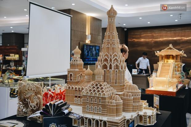 Độc đáo những kiến trúc nổi tiếng Việt Nam và thế giới được xây bằng tăm bởi bàn tay của người Việt - Ảnh 12.