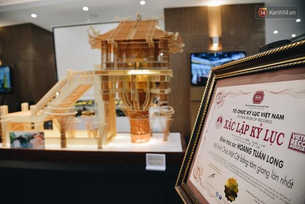 Độc đáo những kiến trúc nổi tiếng Việt Nam và thế giới được xây bằng tăm bởi bàn tay của người Việt - Ảnh 6.