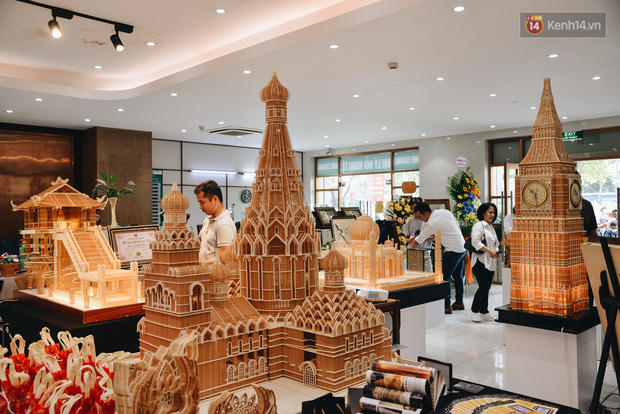 Độc đáo những kiến trúc nổi tiếng Việt Nam và thế giới được xây bằng tăm bởi bàn tay của người Việt - Ảnh 2.