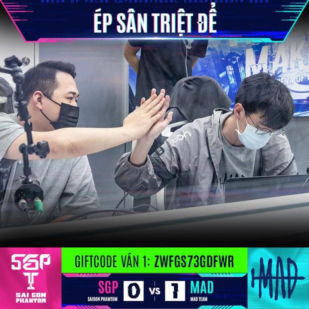 Thắng Saigon Phantom, MAD Team chính thức lên ngôi vô địch AIC, 3 đội tuyển Việt Nam đóng vai kẻ lót đường vĩ đại - Ảnh 1.