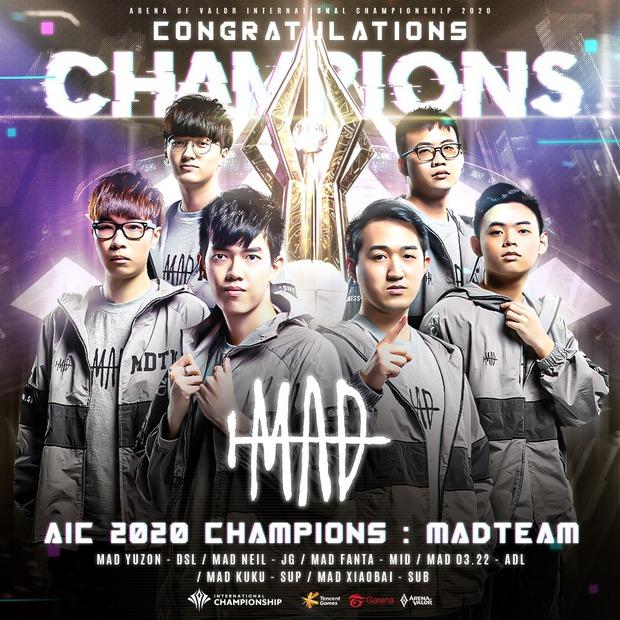 Thắng Saigon Phantom, MAD Team chính thức lên ngôi vô địch AIC, 3 đội tuyển Việt Nam đóng vai kẻ lót đường vĩ đại - Ảnh 3.