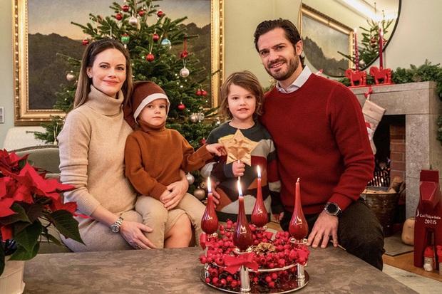 Gia đình hoàng gia trên thế giới tung ảnh thiệp Giáng sinh, nhà Công nương Kate lần đầu lép vế trước vẻ đẹp hoàn mỹ của Hoàng gia Bỉ - Ảnh 7.